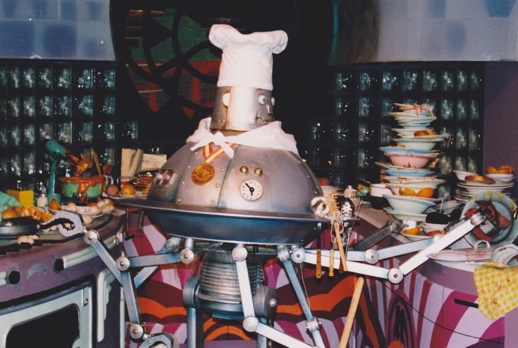 Robot Chefs in Boston Restaurants