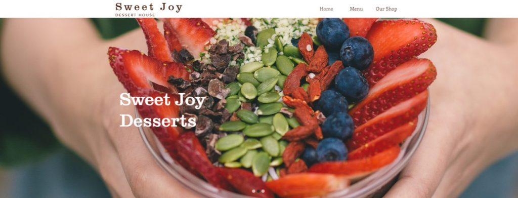 Ramiro and Judit Briseno discuss their store, Sweet Joy Desserts