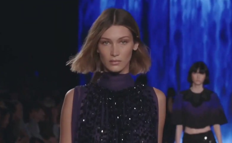 Bella Hadid's debuts bleached bob fall look at Milan Fashion Week