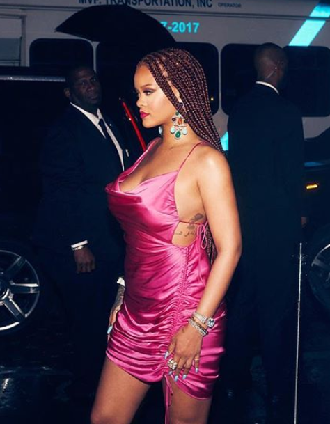 Style crush: 5 jaw-dropping pink looks from Rihanna