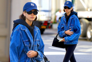 Kaia Gerber goes for incognito street style
