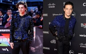 Style twins: Timothée Chalamet and Rami Malek stun in sparkles