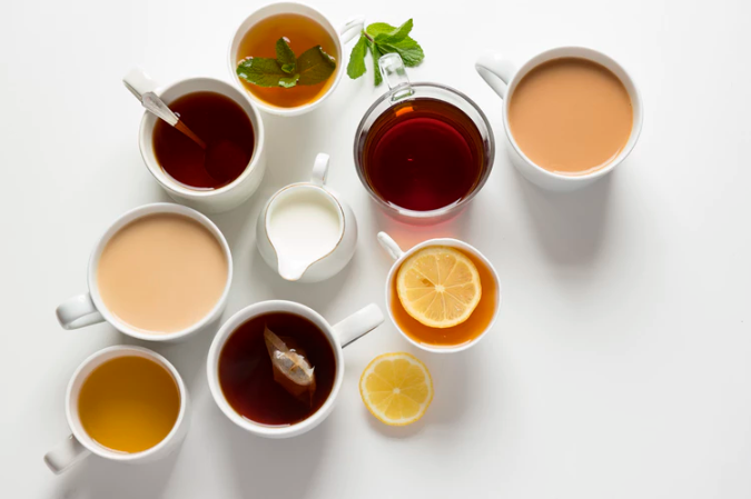 4 different types of tea to improve your mood