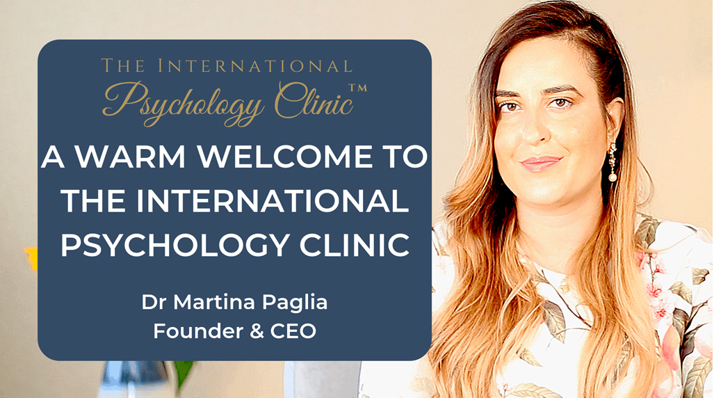Dr Martina Paglia The International Psychology Clinic