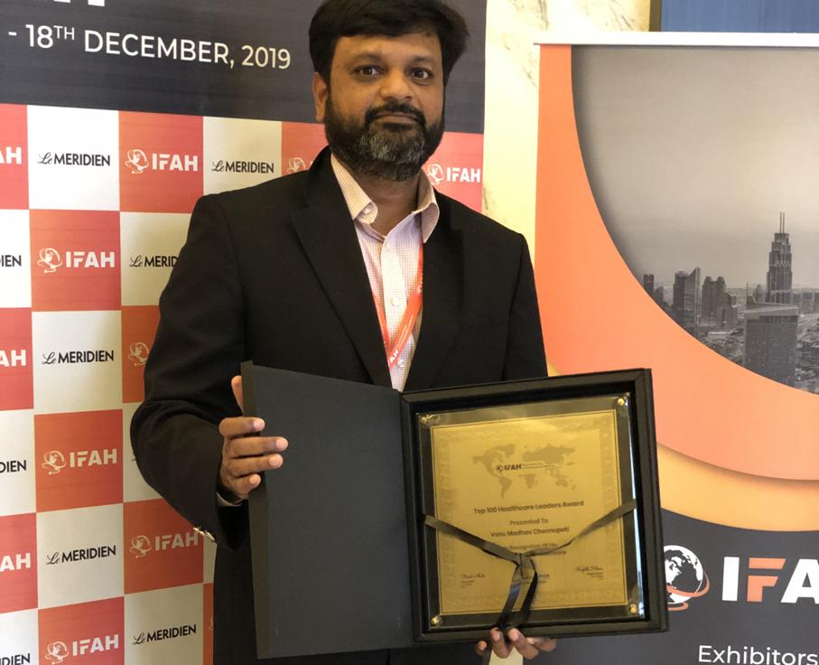 Venu Madhav Chennupati talks about leading the future of healthcare