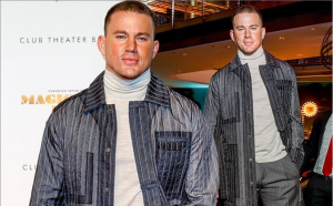 Channing Tatum appears in a dapper suit at Berlin's Magic Mike premiere