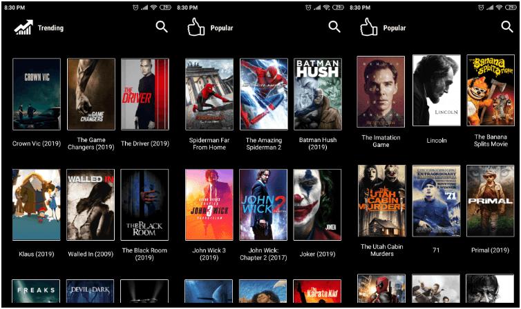 Morphix TV movies