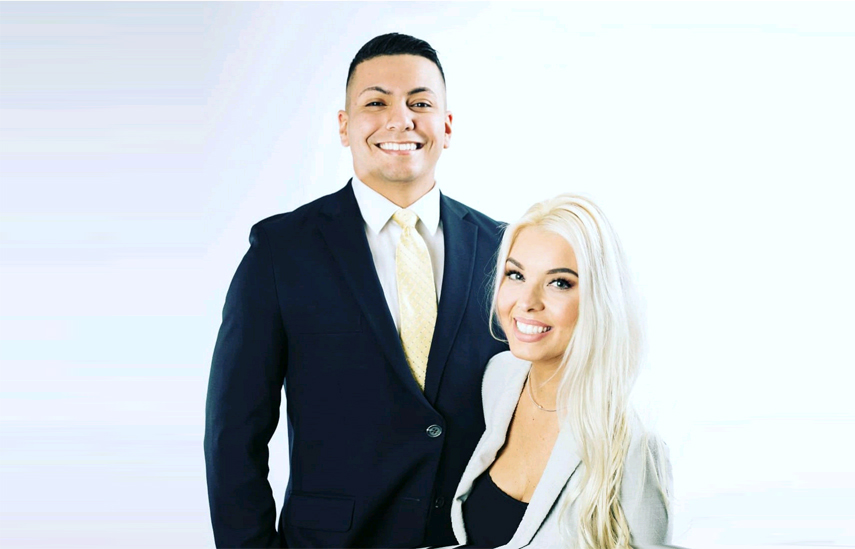 Tony and Jessica Martinez talk about their business Your Real Estate Fam