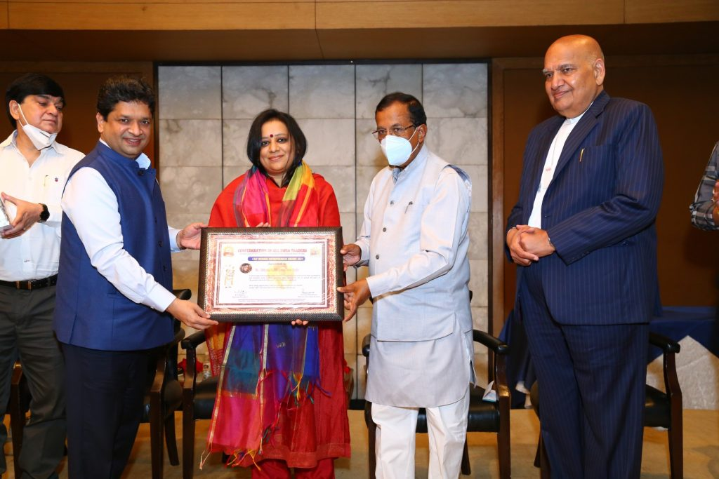 Honour for Gemstoneuniverse - ace astro Gemologist Abhijita Kulshrestha awarded at the National Level
