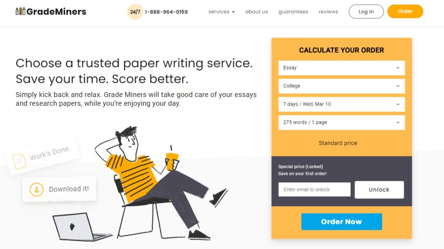 Grademiners - best essay writing services