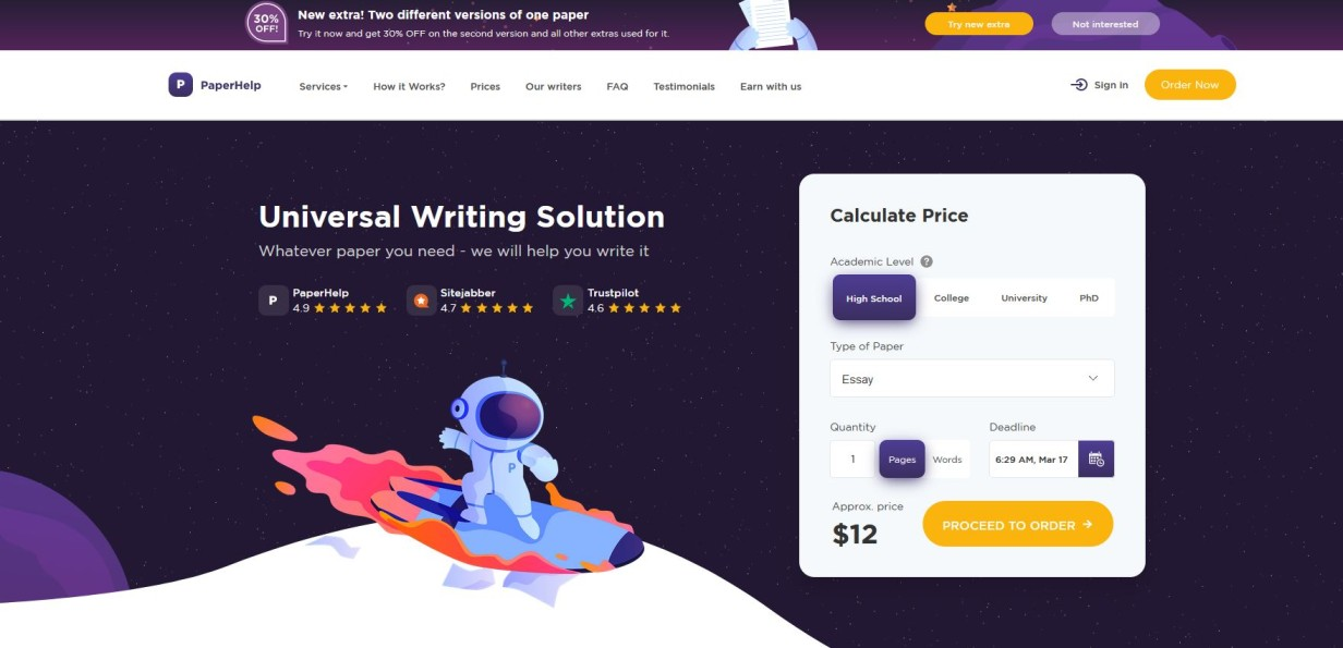 PaperHelp - best essay writing services