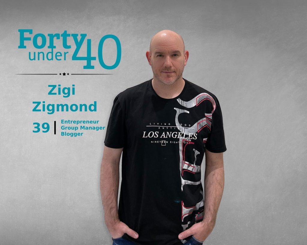 Zigi Zigmond - 40 Under 40