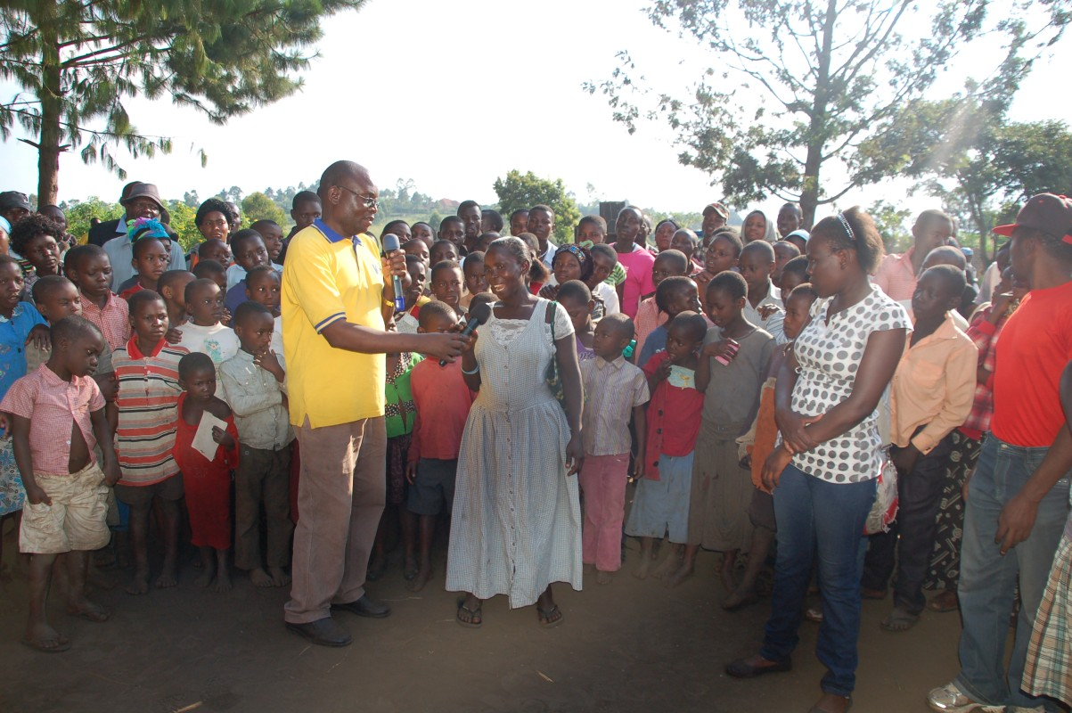 Ainganiza in rural communities for Advocacy Awareness Campaigns on GBV
