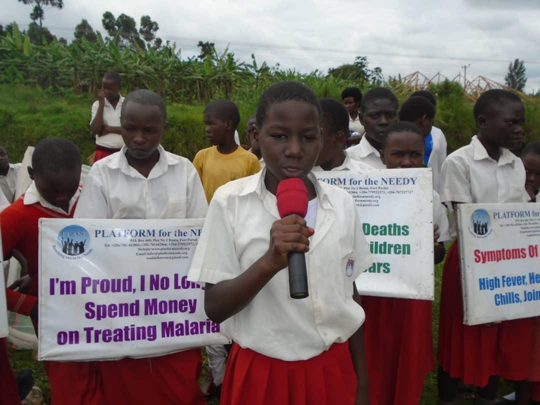 Malaria Awareness Campaign in school