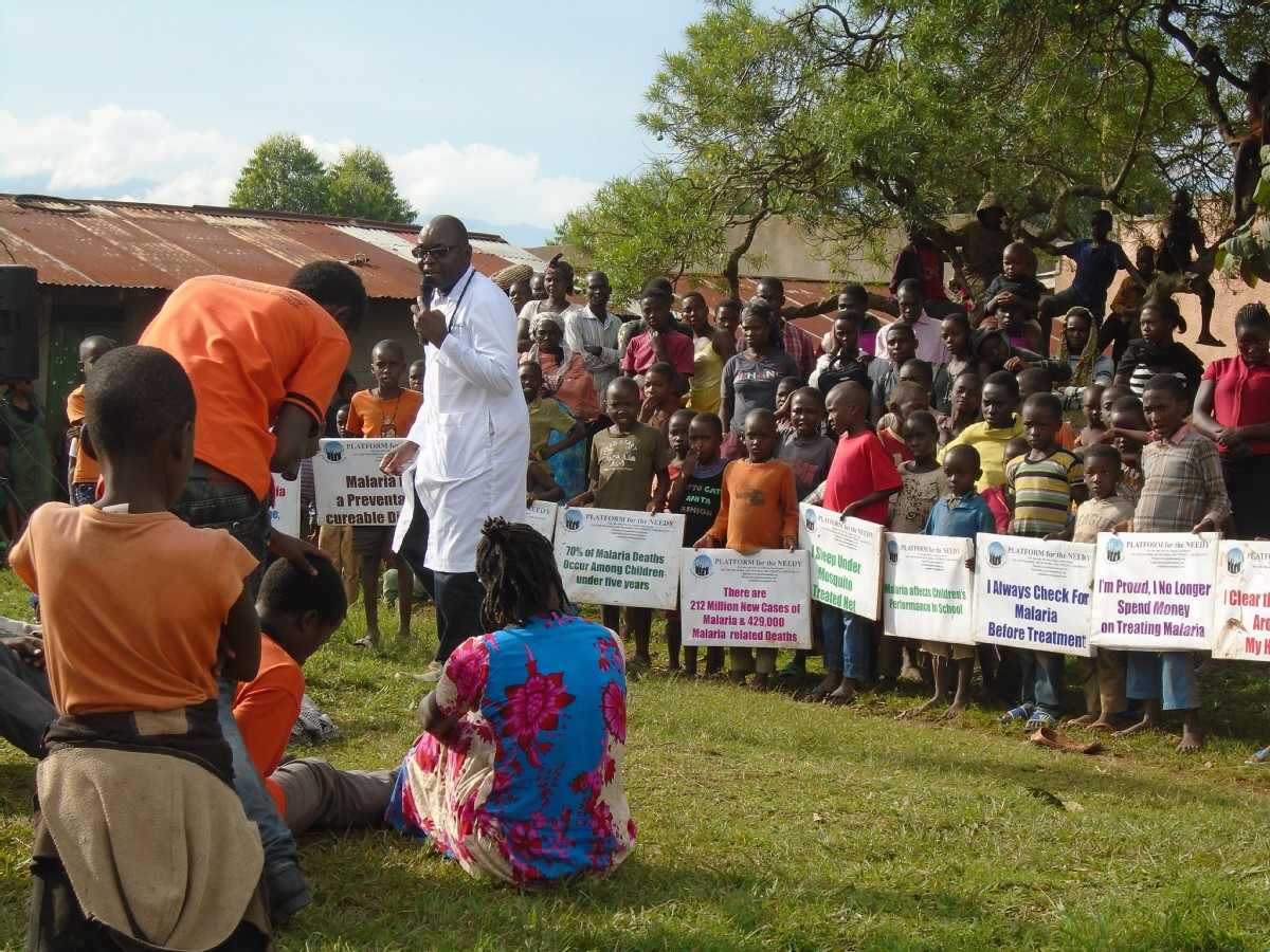community awareness on GBV and Domestic Violence